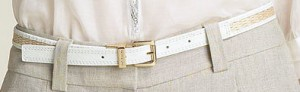 Skinny Belt ($45, MICHAEL by Michael Kors)