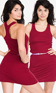 Rib Racerback Dress ($26, American Apparel)