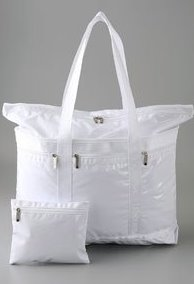White Patent Travel Tote ($108, www.shopbop.com)