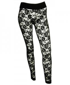 Floral Lace Leggings ($12.80, Forever 21)