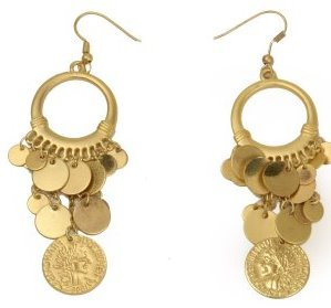 Grecian Earrings, $3.99