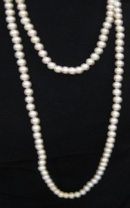 Long pearl necklace, Author's own