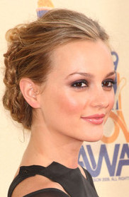 Leighton Meester's Makeup Look