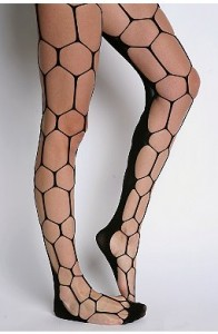 Look from London Hexagon Net Tight ($14.99, Urban Outfitters)