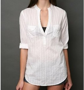 Mirror/Dash Pocket Front Buttondown shirt ($39.99, Urban Outfitters)