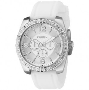 Multifunction White Dial Watch ($115, Fossil)