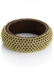 Crumpet Lattice Bangle (£10.00, Accessorize)