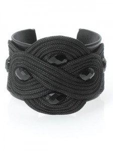 Decadent Fabric Plaited Cuff (£10.00, Accessorize)