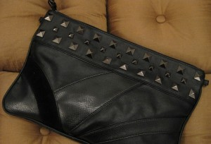Studded Convertible Clutch Bag, Author's Own