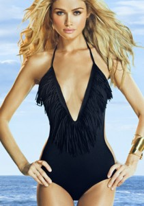 L Space One Love One Piece Swimsuit ($130, www.butterfliesandbikinis.com)