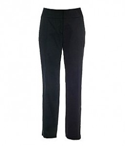 Nygard Collection Stitch Detail Slim Ankle Pants ($46.80, Dillards)