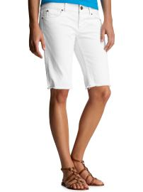 White Denim Bermuda Cut-Offs ($29.99, Gap)