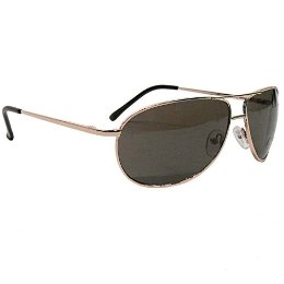 Adi Designs Aviator Style Fashion Sunglasses -Gold ($16.99, Target)