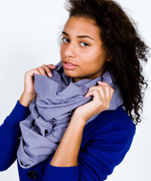 The Unisex Circle Scarf ($28, American Apparel)