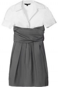 Plastic Island Grey Working Girl Dress