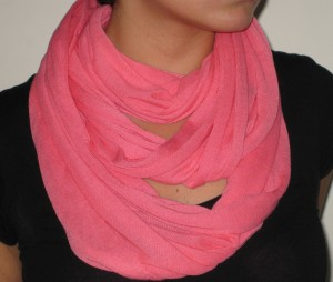 Pink Circle Scarf, Writer's Own