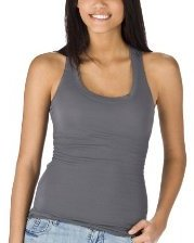 Juniors Mossimo Supply Co. U-Neck Tank -Quartz Grey ($9.99, Target)