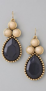 Rachel Leigh Millies Vintage Denim Cluster Earrings ($128, www.shopbop.com)