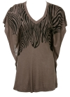 Zebra Slouch Top ($19.99, Charlotte Russe)