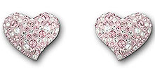 Alana Light Rose Pierced Earrings ($90, Swarovski)
