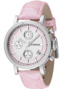Chronograph Silver Dial ($95, Fossil)