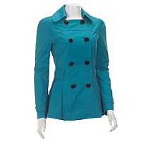 M60 Miss Sixty Lightweight Flared Peacoat ($49.99, Burlington Coat Factory)