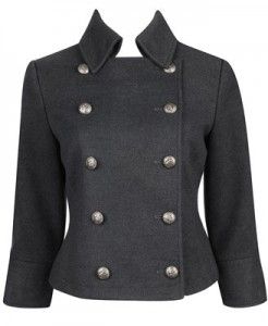 Military Buttoned Jacket ($37.80, Forever21)
