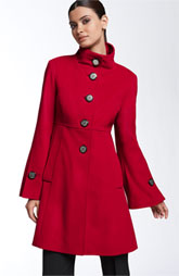 George Simonton Studio Fluted Sleeve Walking Coat ($198, Nordstrom)