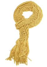 Yellow Ribbon Scarf ($65, Lucky Brand Jeans)