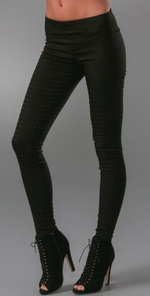7 For All Mankind Houndstooth Seam Leggings ($159, www.shopbop.com)