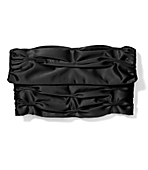 Ruched Satin Fold-Over Clutch ($20.65, Express)
