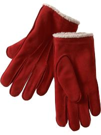 Suede Gloves ($29.50, Gap)