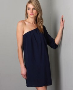 La La Love Dress in Navy ($33, Lulu's)