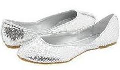 Shellys London Luna Silver Sequins ($26.21, www.overstock.com)