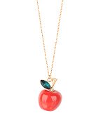 Apple Pendant Necklace ($4.80, Forever21)