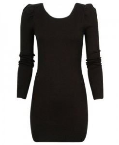 Black Knit Dress Refined ($24.80, Forever21)