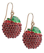 Delicious Apple Earrings ($4.80, Forever21)