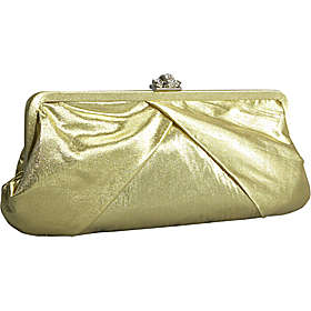J. Furmani Satin Clutch wtih Rhinestone Clasp ($31.50, eBags)