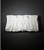 Rouched Clutch ($29.50, Express)