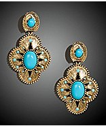 Large Stone Drop Earrings ($34.50, Express)