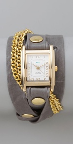 La Mer Collections Double Chain Wrap Watch ($108, www.shopbop.com)