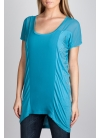 Studded Ruched Top ($12.49, Charlotte Russe)