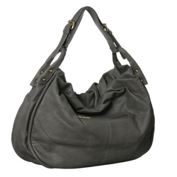 Tops Handbag Studded Hobo-style Bag ($38.99, www.overstock.com)