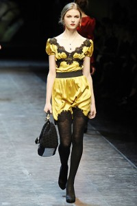 Dolce & Gabbana Fall 2010 Ready-to-Wear Collection