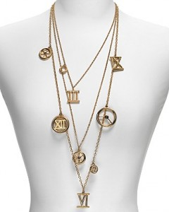 Kara By Kara Ross Roman Numeral and Cog Charm Necklace ($230, Bloomingdales)