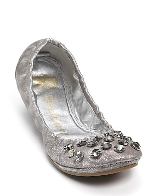 "Juicy Couture ""Ronie"" Studded Ballet Flats"