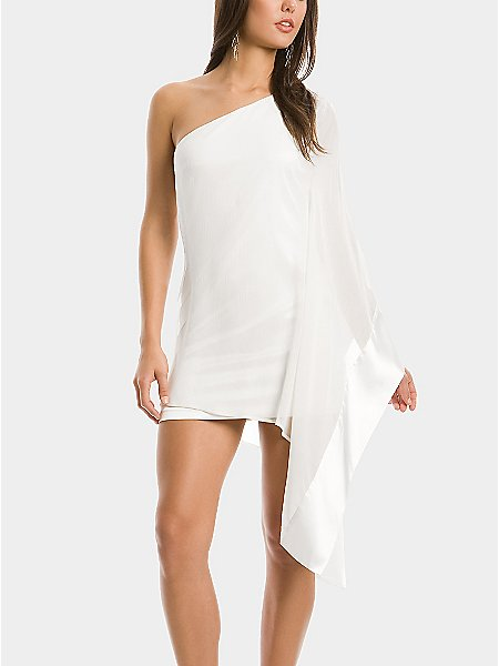 GUESS by Marciano Tori One Shoulder Dress
