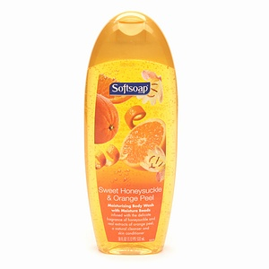 Softsoap Moisturizing Body Wash, Honeysuckle and Orange Peel ($5.49, Drugstore.com)